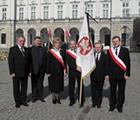 15 kwietnia 2010 - Warszawa, przed Pałacem Prezydenckim