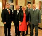 Delegacja Miasta Siedlce na dorocznych Dożynkach Rejonu Wileńskiego - z Panią Marią Rekść  - Mer Rejonu Wileńskiego - 27 września 2013 r.